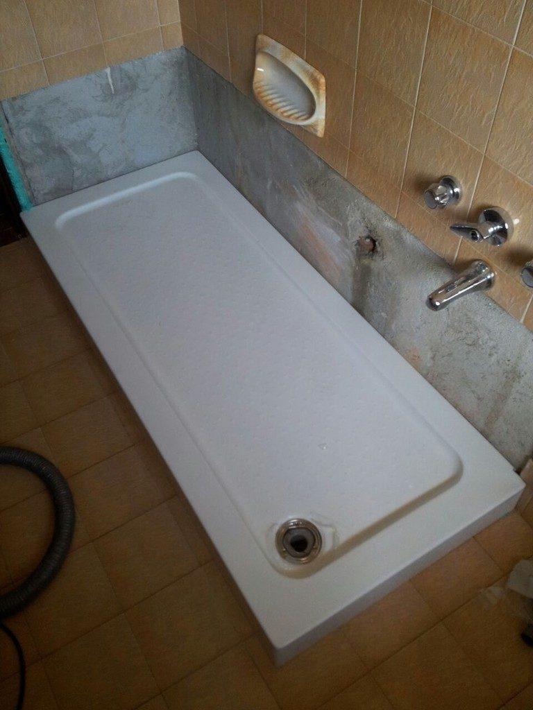 Trasformazione da vasca a doccia – Sovabad