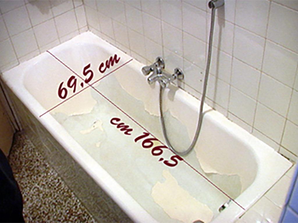 Sovrapposizione di una vasca edilnet